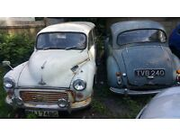 Morris Minor and Morris Traveller restoration