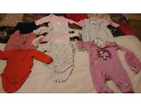 Baby girls 0-3 months bundle