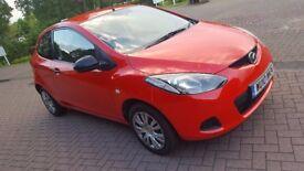 Mazda 2 TS, 1.3 petrol, manual, full service history, long MOT, one previous owner