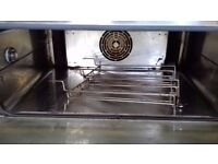 unox xft130 oven used with stand and additional trays industrial professional