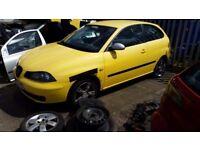 2005 SEAT IBIZA FR TDI PD 130 PASSENGER AND DRIVERS HUB