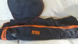 Stihl Chainsaw Trousers XXLarge Worn Once with Bag