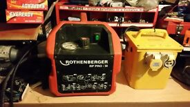 Rothenburger rp pro 111 test pump and transformer