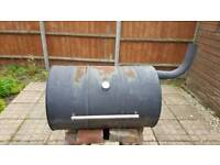 Home made Oil Drum BBQ/Smoker