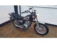 125cc motorbike huanio 2013 £495