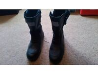 Leather Motorcycle boots size 12