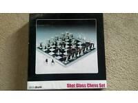 Chess shot glasses