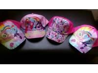 Brand new my little pony caps