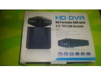 NEW BOXED HD DVR DASH CAM WITH CABLES FOR SALE