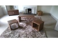 Next Coffee Table Nest & Matching Television Unit