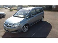 2008 Vauxhall Zafira, petrol, 7 seater, long MOT, Cambelt changed, very reliable and practical.