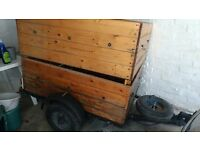 Trailer, two depths and electrics for sale