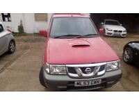 2003 Nissan Terrano Il 2.7 TDi SE 5dr. 4x4 Estate Manual.MOT 11-17