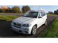 BMW X5 3.0TD AUTO 2009 X-DRIVE M SPORT2009,Black Leather,Pearlescent Silver,Alloys,Service History