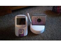 Camera baby monitor