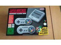 SNES Classic Mini Console - Brand New Unopened