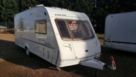 2004 Sterling Eccles Jewel 4 Berth Caravan