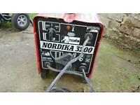 Nordika 3200 welding unit
