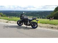 Yamaha MT07 64 plate - One Female Owner