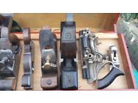 selling and buying vintage tools , shipright, cooper, cabinet makers, joiners tools