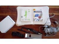 Wii BUNDLE, CONSOLE + Wii FIT BOARD + GAMES, ETC.