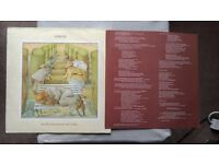 Genesis album on vinyl Selling England by the Pound