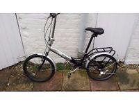 "Apollo Transition folding bike 6 speeds wheels 20"""