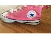 Size 2 baby converse
