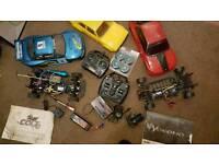 R.c. Nitro and drift cars
