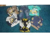 Baby boys clothes bundle JCB 2/3 years