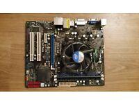 CPU i3 550 3.2GHz + 4GB Ram. + MBD ASROCK H55M-LE