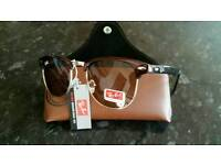 Rayban clubmaster sunglasses. New in box
