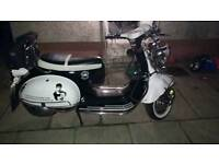 Ajs 125 scooter