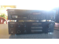 Pioneer Amplifier & 6 Disk Cd Player Full Working Order £50 OVNO