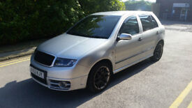 SKODA FABIA VRS 2004 (53 REG), Just been serviced + MOT'd + Loads of extras!