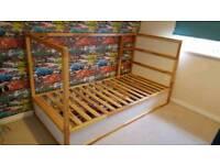 Kids reversible bed