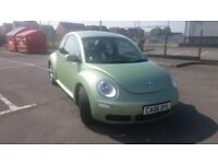 2006(06)VW BEETLE 1.4 LUNA MET APPLE GREEN,ALLOYS,LOVELY CAR,GREAT VALUE