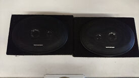 Pair of Ripspeed car speakers, 7 x 10 inch. Used.