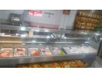 L Shape Meat Display