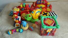 Massive baby/toddler toys bundle Vtech Chicco