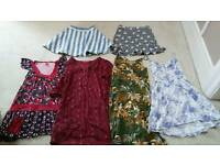 New Look, Indiska, Miss Selfridge, H&M. Skirts and Dresses Bundle