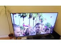 """Large 55"""" LED smart TV, freeview HD, freeview play, netflix etc."""
