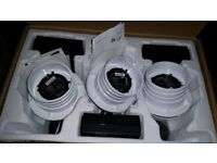 Ubiquiti CCTV 720P Night Vision Cameras with Mic (3Pack)