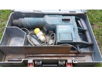 Boschhammer SDS max GBH 11 DE. 110v in working order with accessories and case!Can deliver or post!