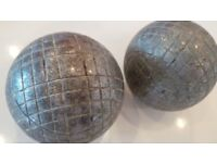 x3 Pair of French Metal Petanque - Boules