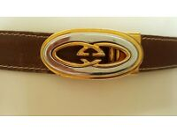 Classic GUCCI Belt - 100% Genuine - Pick Up from Chelsea SW3 or Hove BN3