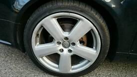 "Genuine Audi 18"" alloy wheels"