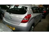 2012 Hyundai I20 5 door silver Good runner low mileage
