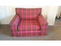 Next Tartan Snuggle Chair/Seat