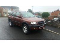 Vauxhall frontera limited